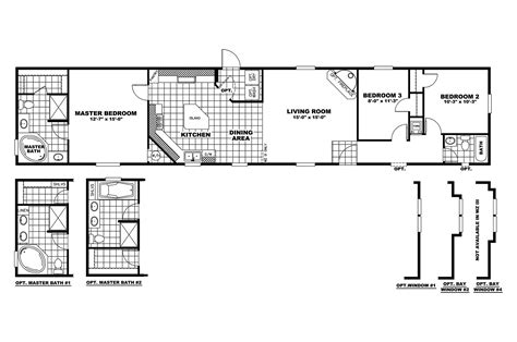 Clayton Mobile Home Floor Plans Photos by Manufactured Home Floor Plan 2010 Clayton Saratoga