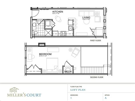 Bedroom House Plans With Loft