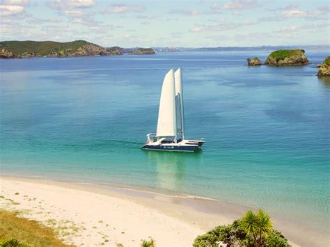 Catamaran Sailing Bay Of Islands Nz by Cool Change Charter Boat Bay Of Islands 54ft Catamaran