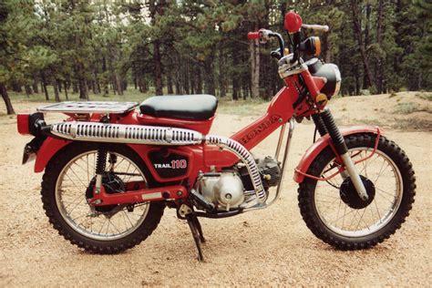 1981 Honda Ct-110 Trail. The