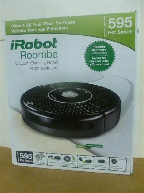 new irobot roomba model 595 pet series vacuum cleaning robot ebay