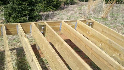 Deck Joist Hangers Or Not by Shadow Of The Mountain Observatory
