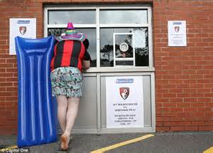 bournemouth sell match tickets in euros as fans cut