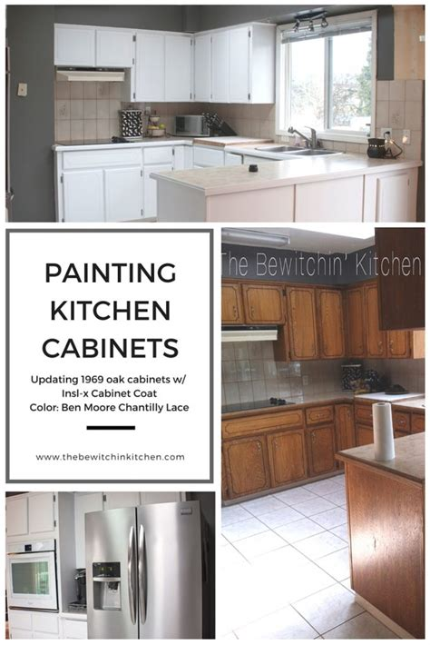 painting kitchen cabinets transforming 1970s oak tbk