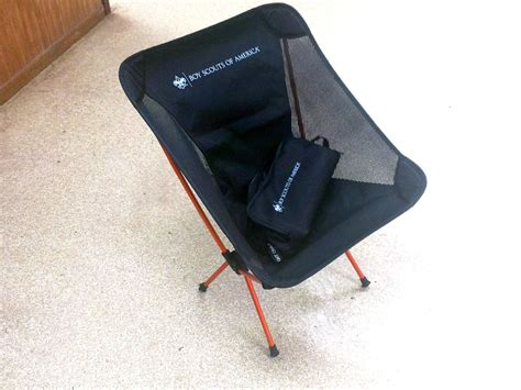 scouting together ultralight c chair 1 7 lbs of