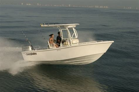Everglades Boats In Rough Water by Research Everglades Boats 211cc Center Console Boat On