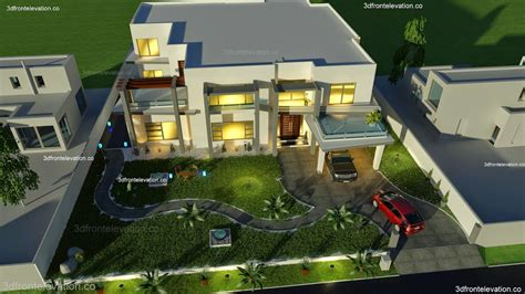 500 Square Yards House Plan- 3d