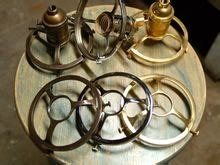 uno threaded 4 quot shade fitter solid brass light sockets sold separate snake vintage