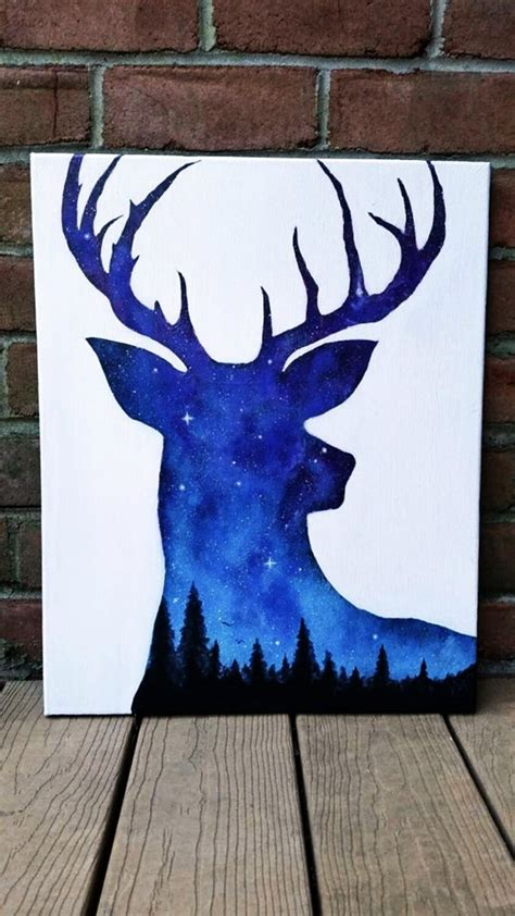 30 Best Canvas Painting Ideas For Beginners