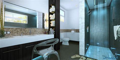 3ds Max Tutorial  Modern Bathroom Visualisation In