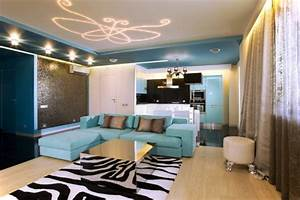 Deckenleuchten Spots Ideen : 61 coole beleuchtungsideen f r wohnzimmer ~ Markanthonyermac.com Haus und Dekorationen