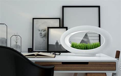 le de table sans fil 224 led avec mini jardin la grassl