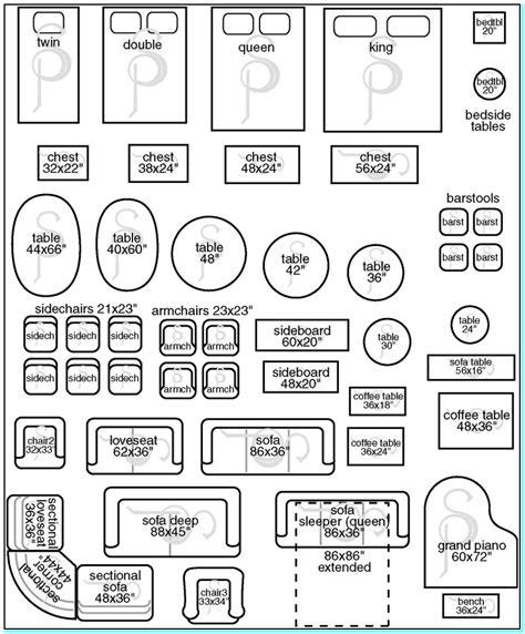 Furnituretemplatesforroomplanning  Torahenfamiliacom