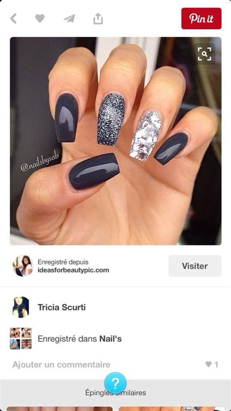 gris et argent plus unhas ongles manicure and makeup
