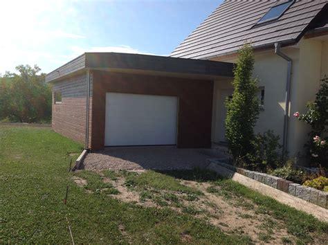 maison bois en kit toit plat inspirations et extension garage bois toit plat photo ninha