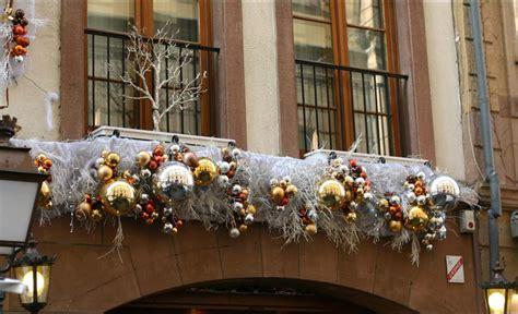 d 233 coration noel exterieur balcon exemples d am 233 nagements
