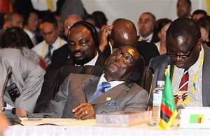 President Mugabe Caught Sleeping In Public 9 Times