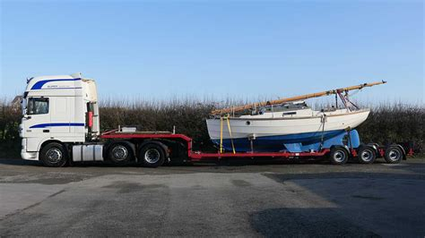 Long Distance Boat Transport by W Morris Son Boat Transportation Uk Boat Transport
