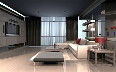 High-tech Living Room