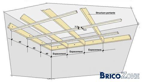 ossature en bois pour faux plafond page 2