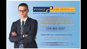 Poole Law | Duluth, MN Criminal Defense Lawyer on 95KQDS ...