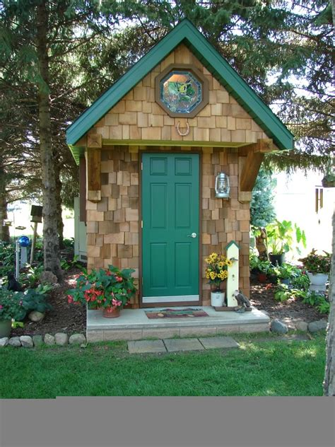 Garden Sheds Offer A Unique Focal Point In Your Cottage
