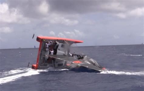 Gunboat Foiling Catamaran by Video See How The New Gunboat G4 Foiling Cruiser