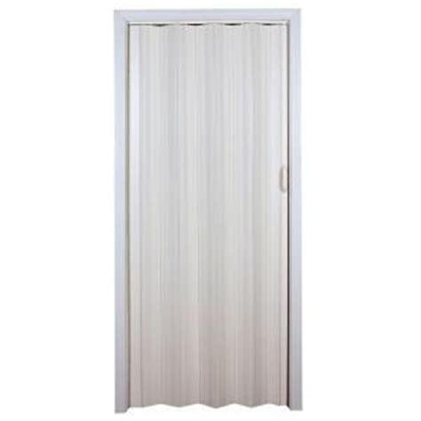 accordion doors home depot spectrum 36 in x 80 in cottage vinyl white
