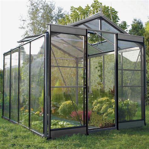 serre de jardin en verre tremp 233 affinity 6 967 m 178 leroy merlin