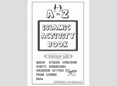 Islamic Activity Book for Kids Full Vol1 & 2 Combined