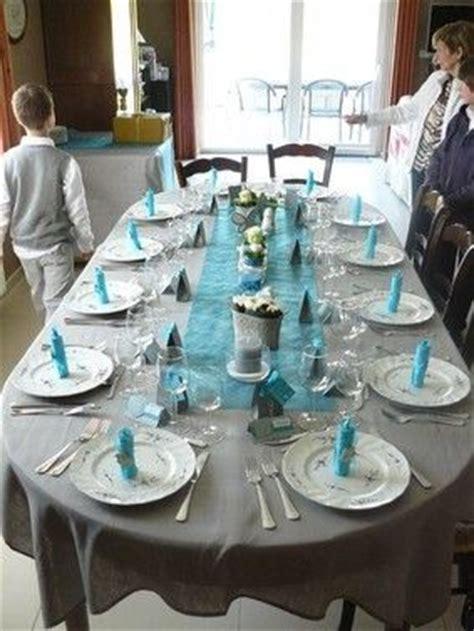conseils d 233 co de table bleu et gris mariage et photos