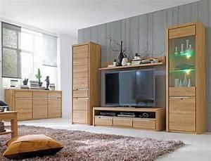 Wohnzimmer Eiche Massiv : wohnzimmer pisa 52 eiche bianco massiv 5 teilig wohnwand sideboard wohnbereiche wohnzimmer ~ Markanthonyermac.com Haus und Dekorationen