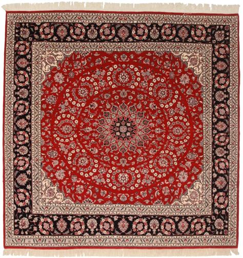 Square Pakistani 8x8 Wool Oriental Rug 5720. Black Crystal Chandelier. Laundry Room. Mid Century Couch. Counter Height Chairs. Glass Wall Panels. E By Design. Gray Tile. Modern Full Bed Frame