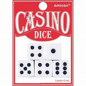Casino Night Dice (5ct)