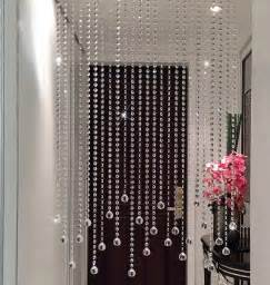 2016 new handmade clear bead curtain home