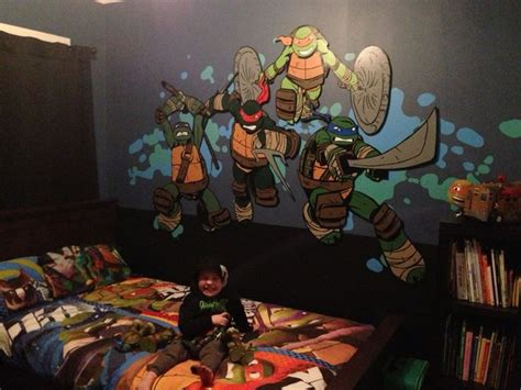 11 Best Images About Teenage Mutant Ninja Turtle Bedroom Paint Spraying Tips Automotive Spray Interior Painting Printable Stencils Purple Hair New York Street Art How To Walls Drawing