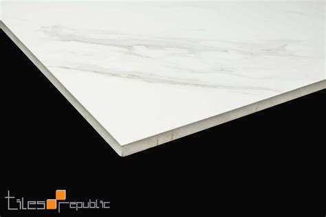 carrara marble white polished 600x600 tiles republic