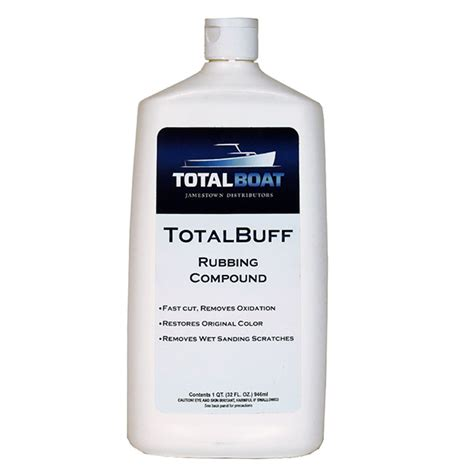 Rubbing Compound For Boats by Totalboat Totalbuff Marine Rubbing Compound