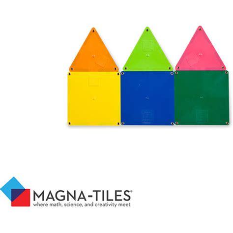 Magna Tiles Clear Vs Solid by Magna Tiles Solid Colors 100 Set Raff And Friends