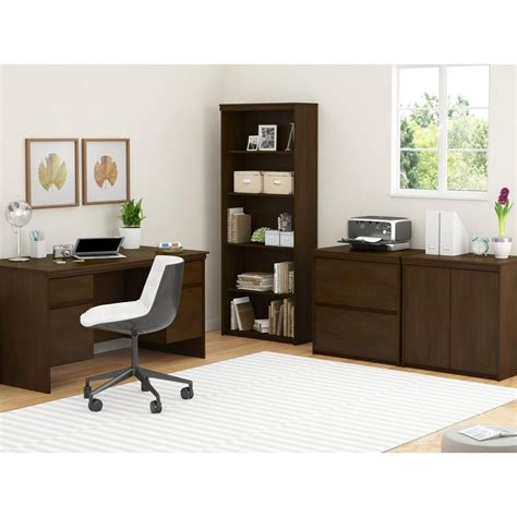 100 ameriwood computer desk with shelves white