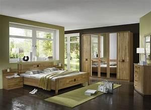 Schlafzimmer Set Massivholz : wiemann schlafzimmer set kairo 4 tlg kaufen otto ~ Markanthonyermac.com Haus und Dekorationen