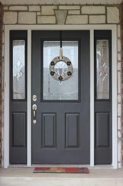 painting your front door diy tutorial home perk ups
