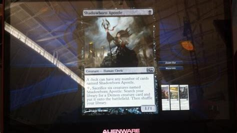 ideas for shadowborn apostle edh help commander edh the mtg salvation forums
