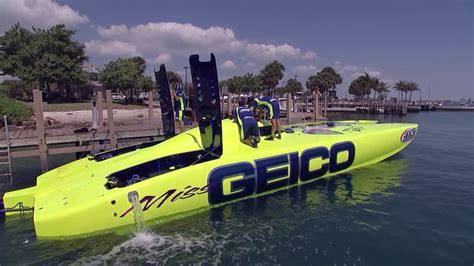 Boat Racing Videos by On The Edge High Speed Boat Racing Youtube