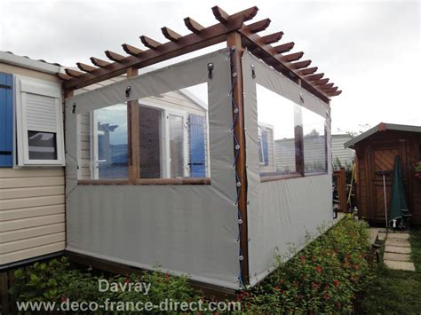 fermer un terrasse couverte