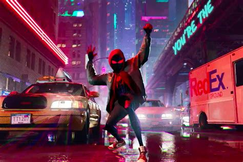 Get A Glimpse Of Into The Spider-verse In Post Malone's