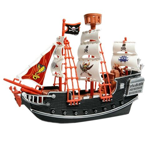 Toy Ships And Boats by Deluxe Detailed Toy Pirate Ship