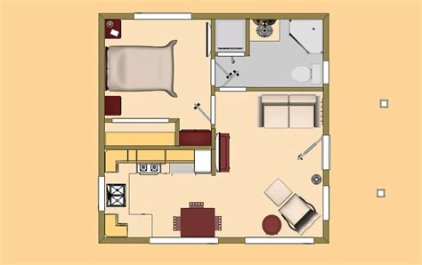 Home Design 400 Square Feet : 400 Square Foot Home Plans