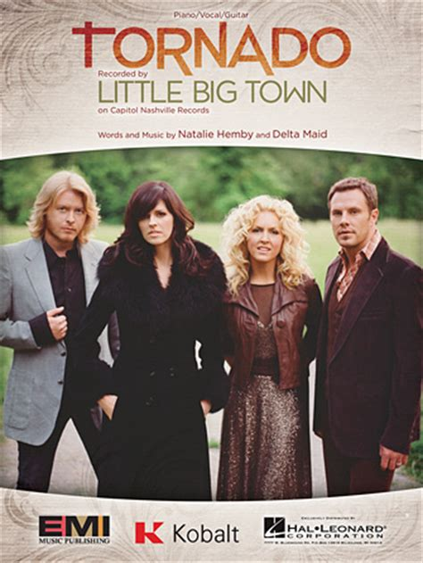 Little Big Town Pontoon Chords And Lyrics by Tornado Sheet Music Direct
