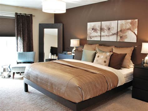 Brown Master Bedroom Decorating Color Scheme Ideas-best